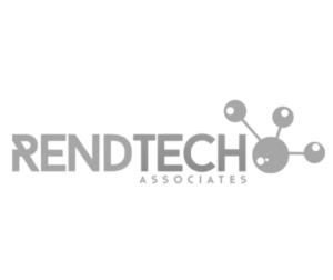 Rendetch logo in greyscale