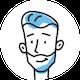 icon of man smiling avatar
