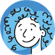 icon of girl smiling avatar