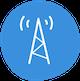 radio tower signal icon